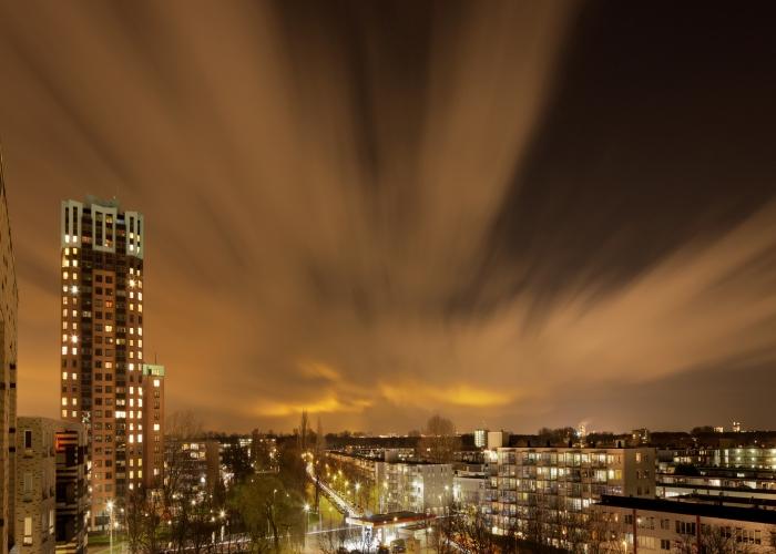 gradska svijetla nocu