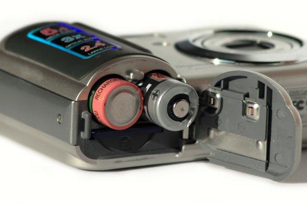 baterije u fotoaparatu