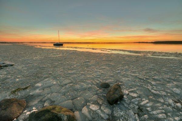 ledena obala fjorda
