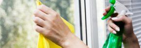 Prirodno sredstvo za čišćenje prozora